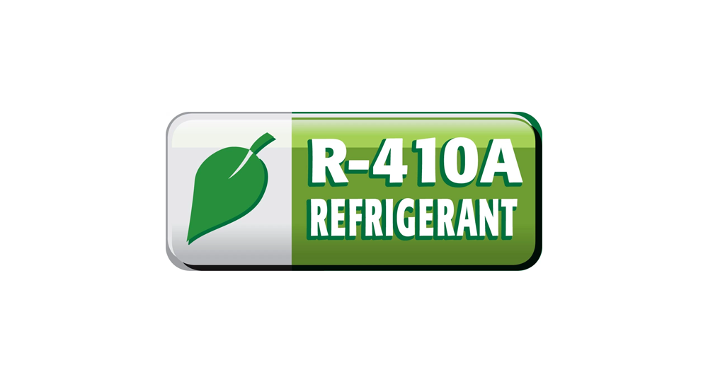New line with R410a refrigerant